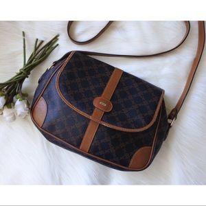 BALLY Monogram Crossbody Messenger Bag